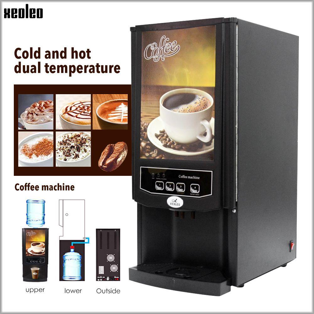 Xeoleo Automatische Kaffee maschine für Restaurant/Büro Kommerziellen Drip Kaffee maker 2/3 Kanister Cafe American 820 W 220 V schwarz