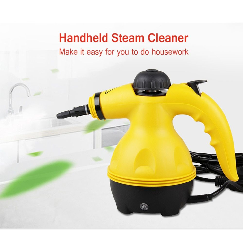 Multi-Purpose Pressurized Handheld Electric Steam Cleaner Portable Household Cleaner All-In-One Sanitizer Kitchen Carpet EU Plug