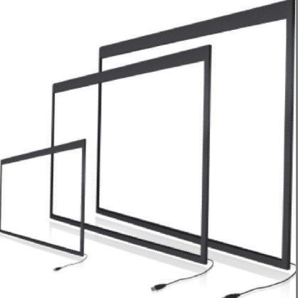 Free Shipping 10PCS 21.5 Inches IR touch screen Shipping By EMS with glass