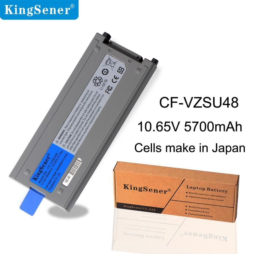 KingSener Cellule Japonaise Nouveau CF-VZSU48 Batterie pour Panasonic CF-VZSU48 CF-VZSU48U CF-VZSU28 CF-VZSU50 CF-19 CF19 Toughbook