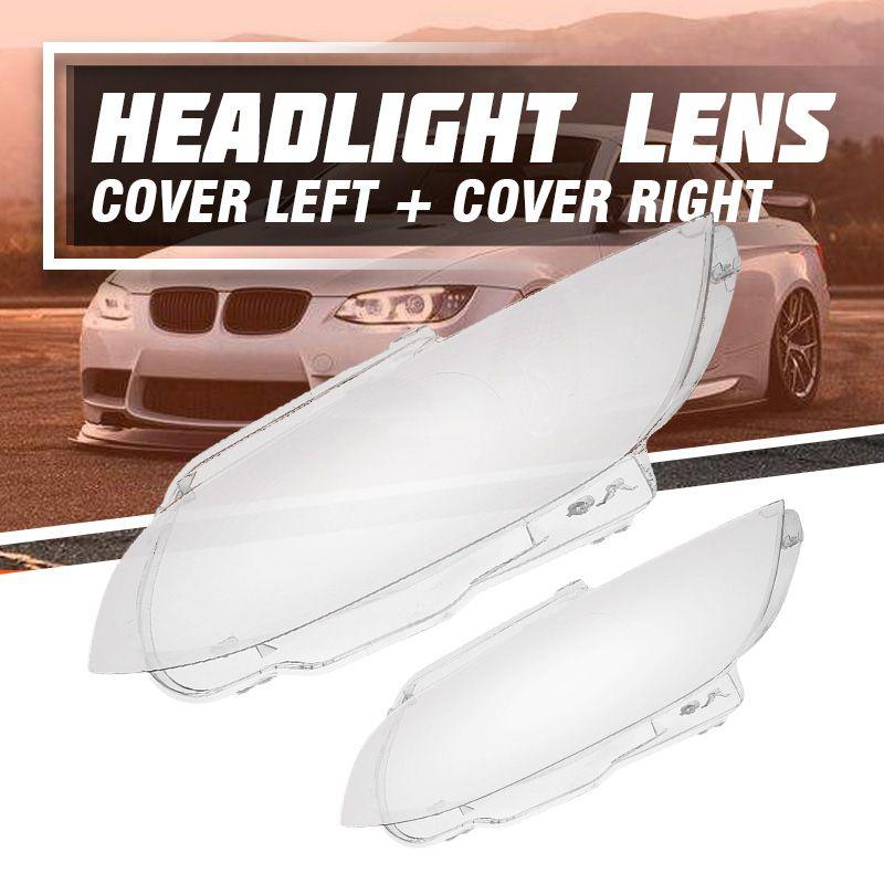 1Pcs Left/Right Car Headlight Headlamp Lens Cover for BMW E92 E93 Coupe Convertible M3 2006 2007 2008 2009 2010