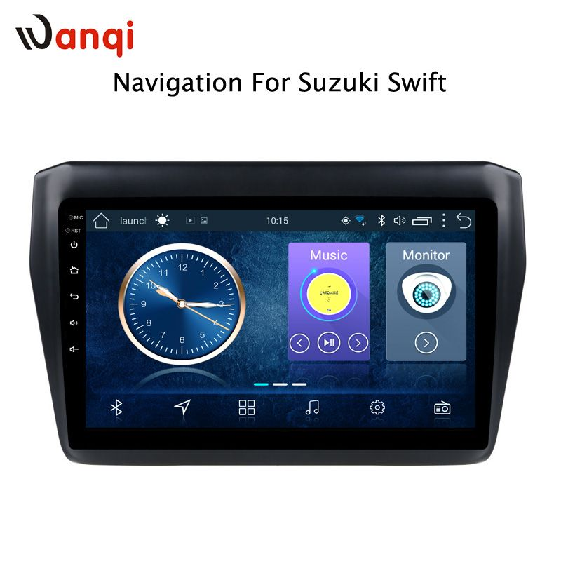 Android 8.1 Für Suzuki Swift 2017 2018 2019 Auto DVD-Multimedia-Player GPS Navigation Stereo Radio BT WIFI