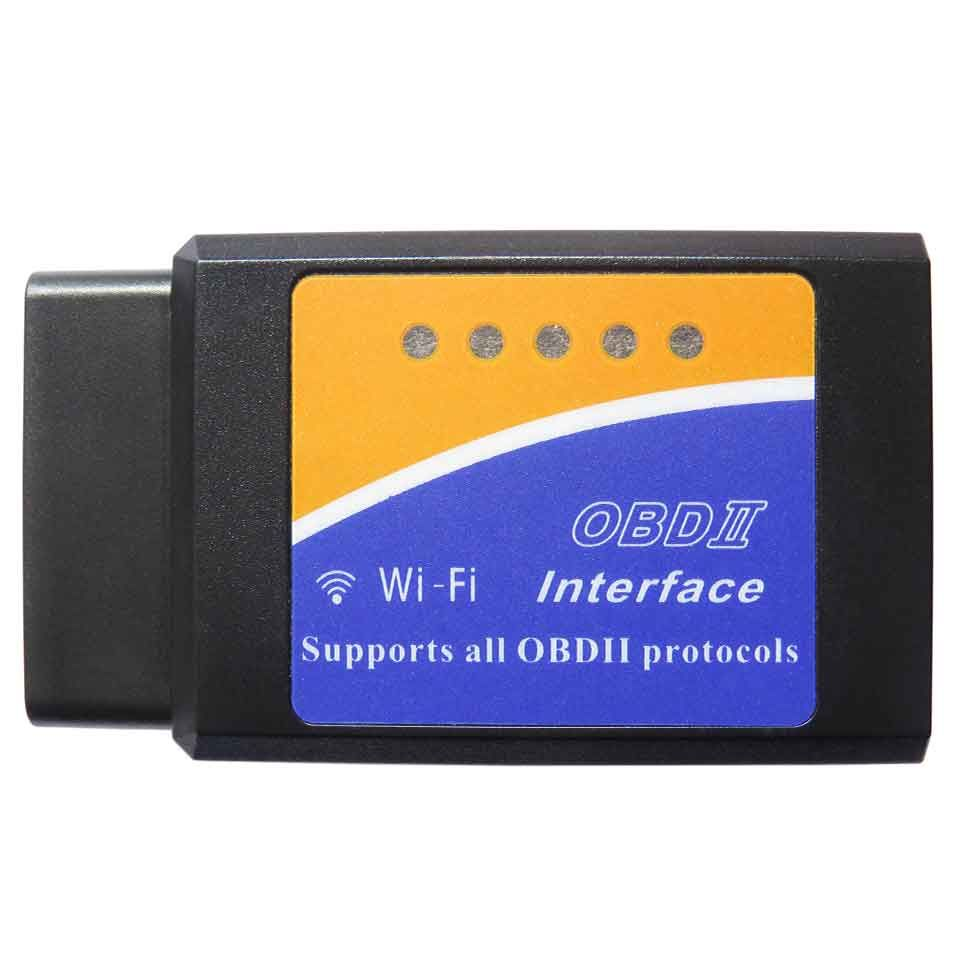Nouveau Mini ELM327 WiFi V1.5 OBD2 OBDII outil de Diagnostic de voiture ELM-327 Wi-fi ELM 327 V 1.5 Obd 2 lecteur de Code Scanner pour iOS et Android