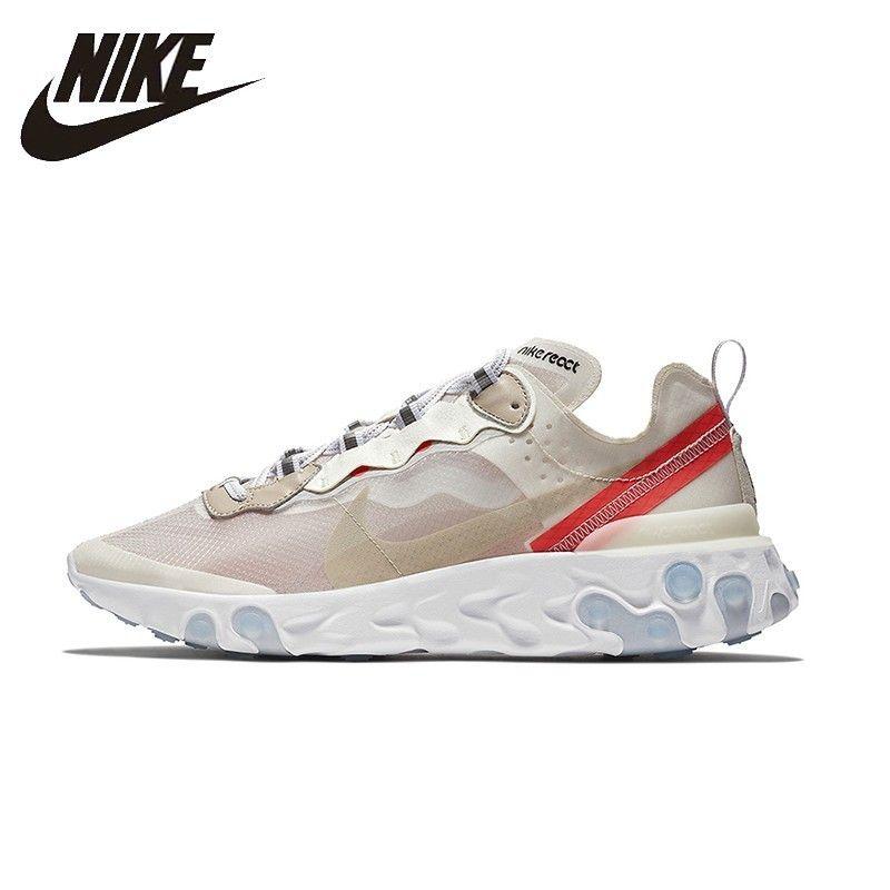 NIKE Reagieren Element 87 Original Herren Und Damen Laufschuhe Mesh Atmungsaktiv Unterstützung Sport Turnschuhe Für Männer Und Frauen Schuhe