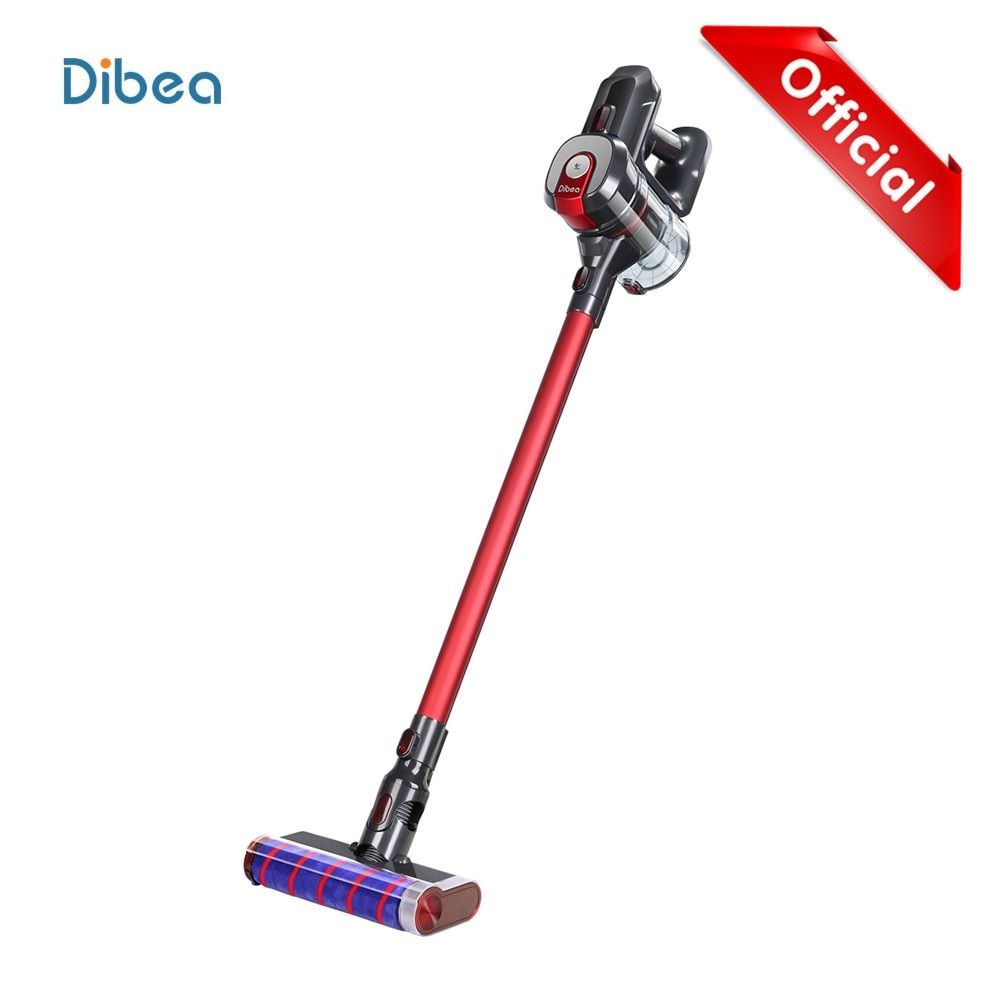 Dibea D008Pro 2-In-1 Vacuum Cleaner Handheld Wireless Strong Suction Vacuum Dust Cleaner Low Noise Dust Collector Aspirator