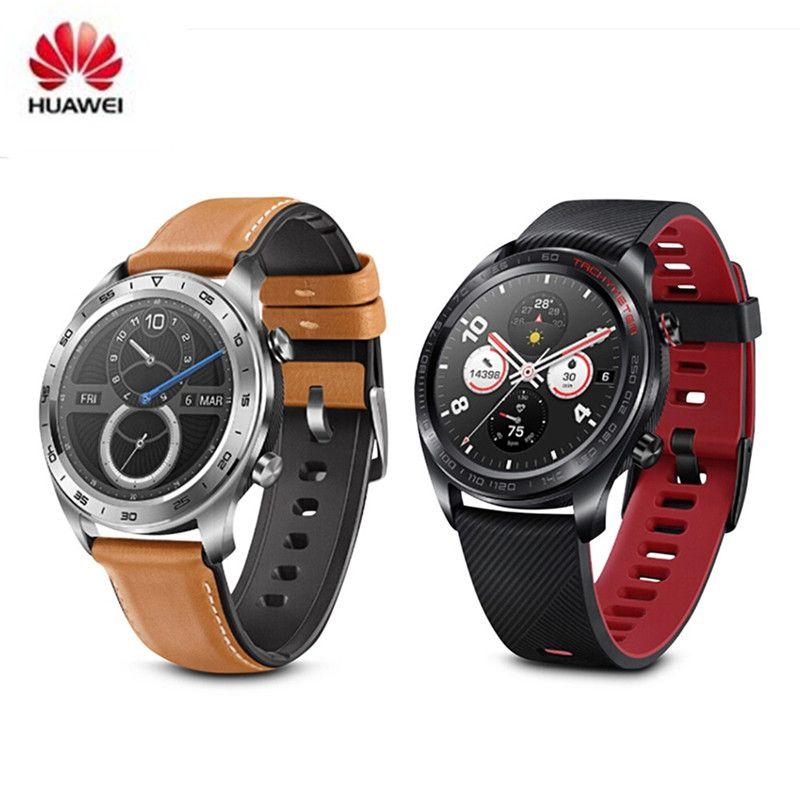 Neueste Huawei Honor Uhr Maigic Freien Wasserdichte Intelligente Uhr 1,2 zoll Dünne Lange Batterie Lebensdauer GPS Wissenschaftliche Coach Amoled Farbe