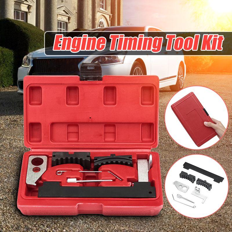 Auto Motor Timing Tool Kit Für Fiat für Cruze für Vauxhall/Opel Auto Motor Pflege Reparatur Werkzeuge mit Rot box 1,6 1,8 16 V