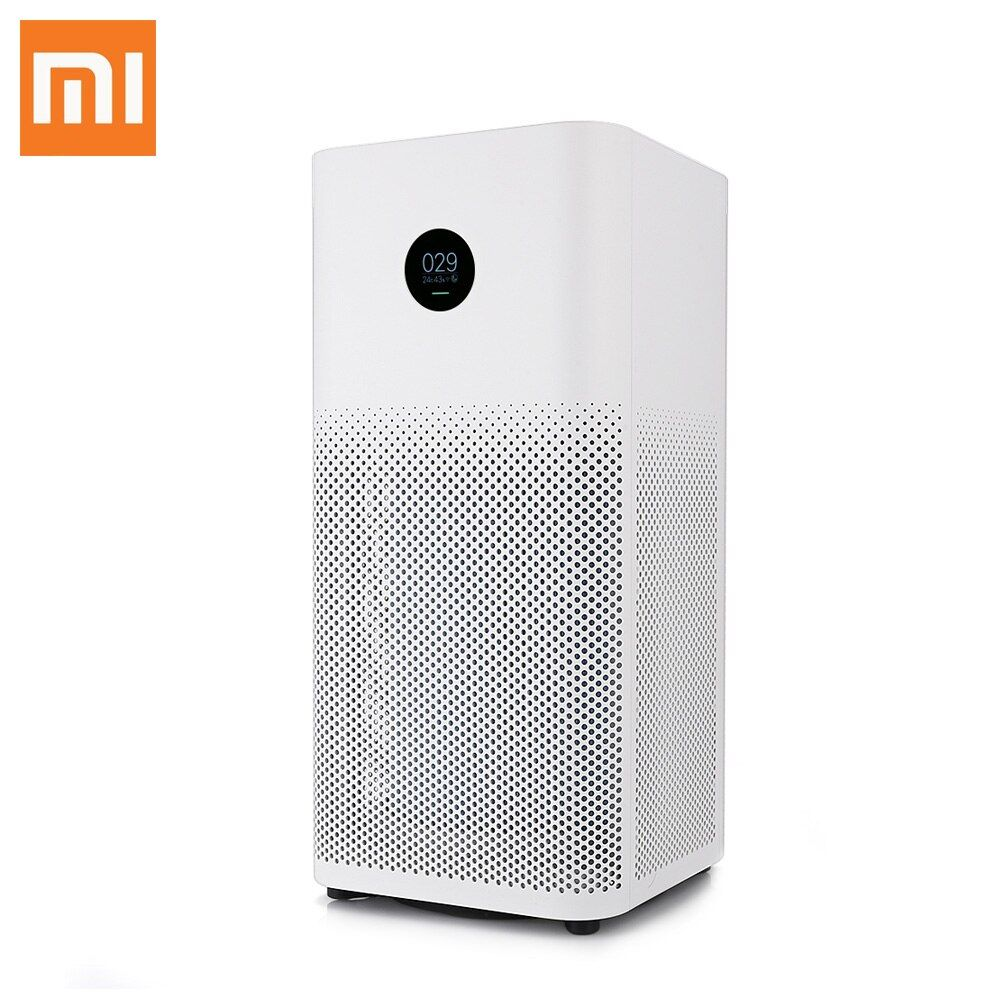 Original Xiaomi Mi Air Purifier 2S OLED Display Smartphone APP Control Smoke Dust Peculiar Smell Cleaner 3-Layered Hepa Filter