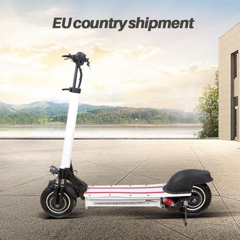 10-zoll Offroad Elektro-roller Erwachsene bike 48 V neue Doppel motor Stil leistungsstarke Faltbare e-bike