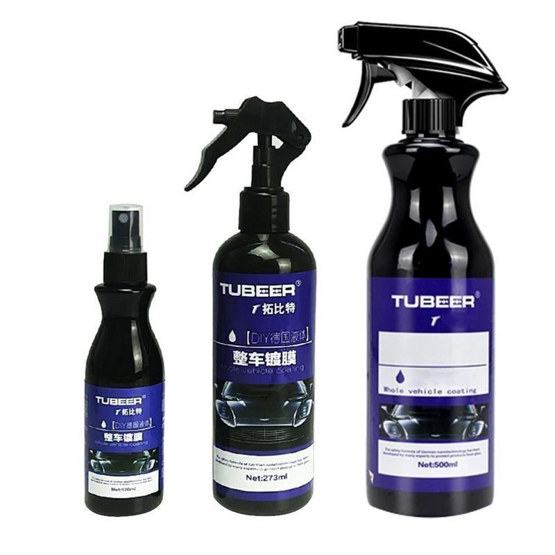 Voiture Nano revêtement polissage pulvérisation cire peint soin de voiture Nano hydrophobe revêtement 120/274/500ML