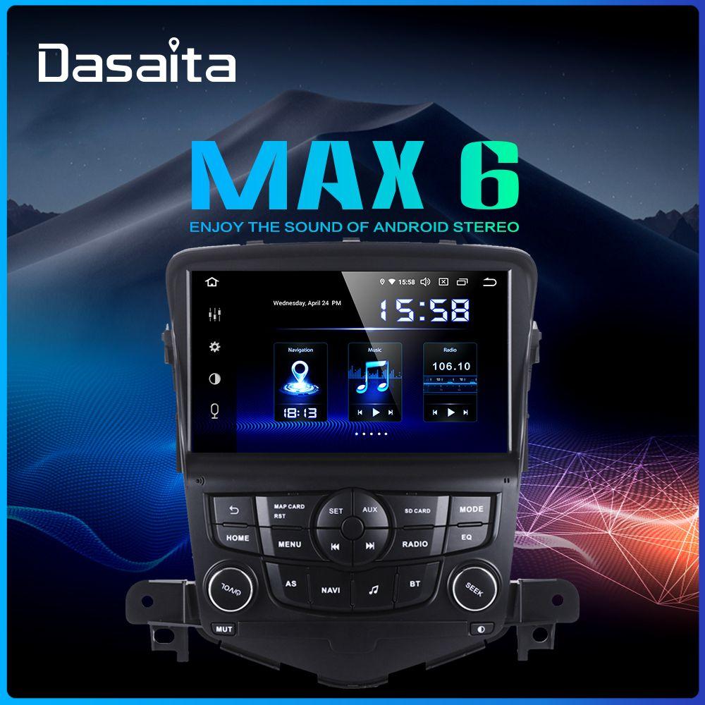 Dasaita 2 Din Auto Android 9.0 für Chevrolet Cruze 2008 2009 2010 2011 Auto Radio 8