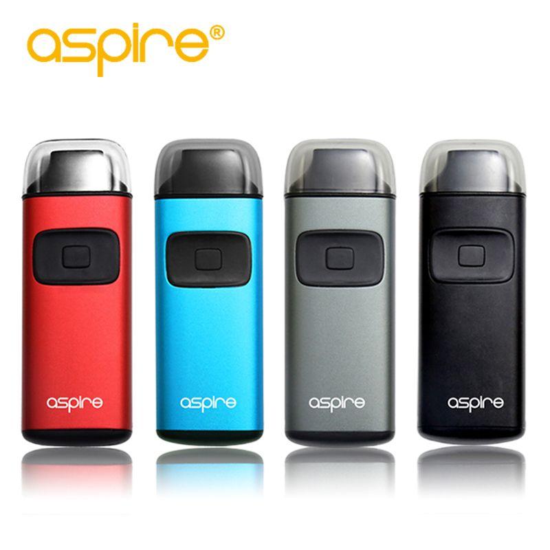 Cigarette électronique Kit Aspire brise Vape stylo Pod 2ml réservoir atomiseur vaporisateur intégré 650mAh batterie Vaporizador Vaper E Cigs
