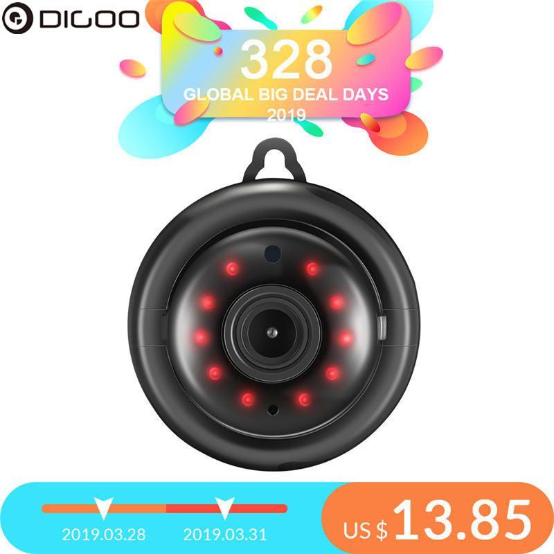DIGOO DG-MYQ 2.1mm Lentille 720 P Sans Fil Mini WIFI vision nocturne Maison Intelligente de Sécurité IP Caméra Onvif Moniteur moniteur pour bébé