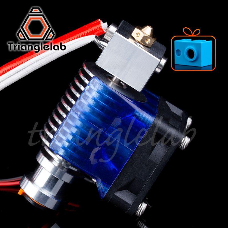 Trianglelab Highall-metal v6 hotend 12 V/24 V télécommande Bowen print j-head Hotend et support de ventilateur de refroidissement pour E3D HOTEND pour PT100