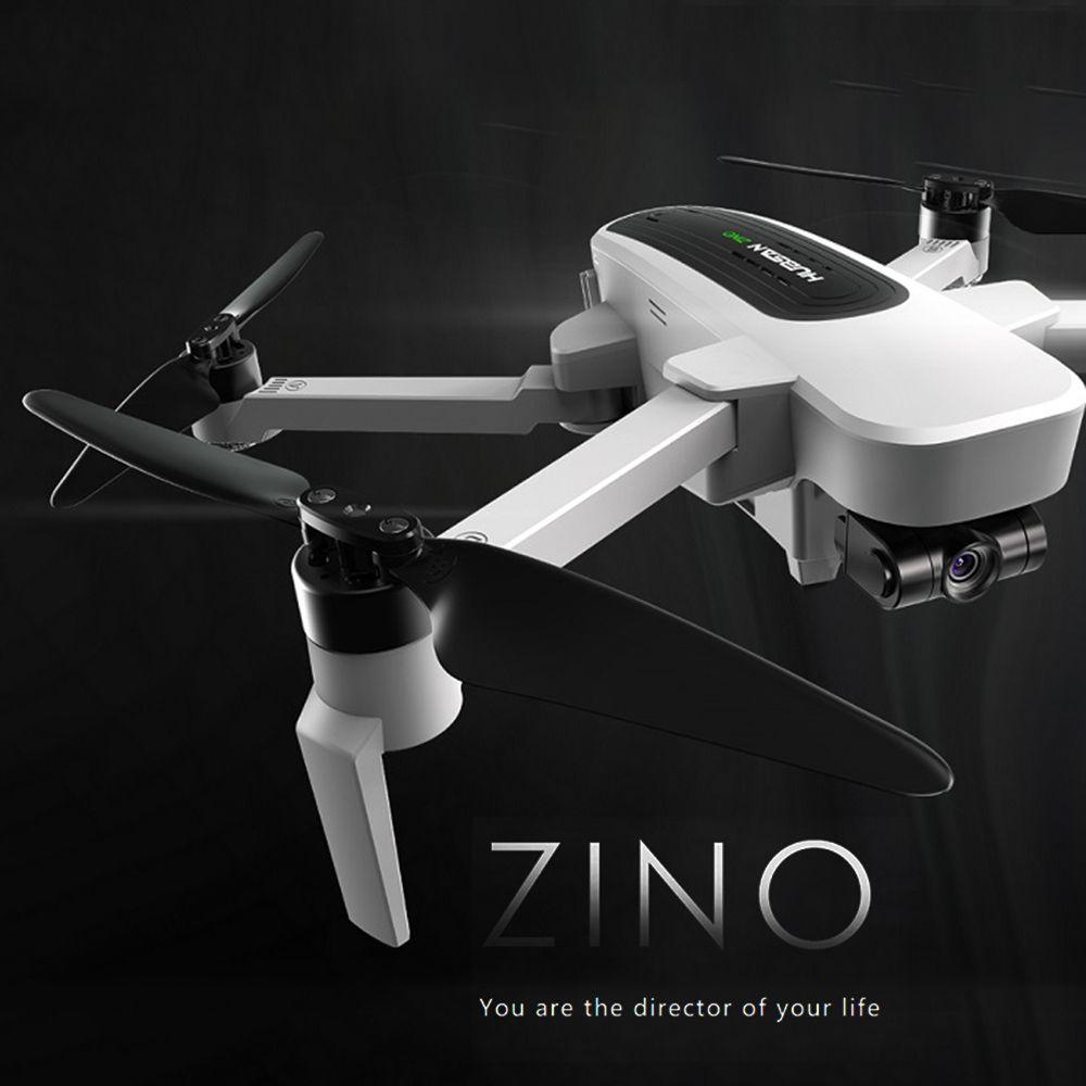 Hubsan Drohne mit Kamera 4 K H117S Zino Bürstenlosen Motor GPS 5G Wifi FPV UHD 3-Achsen Gimbal luft Prefessional Eders RC Quadcopter