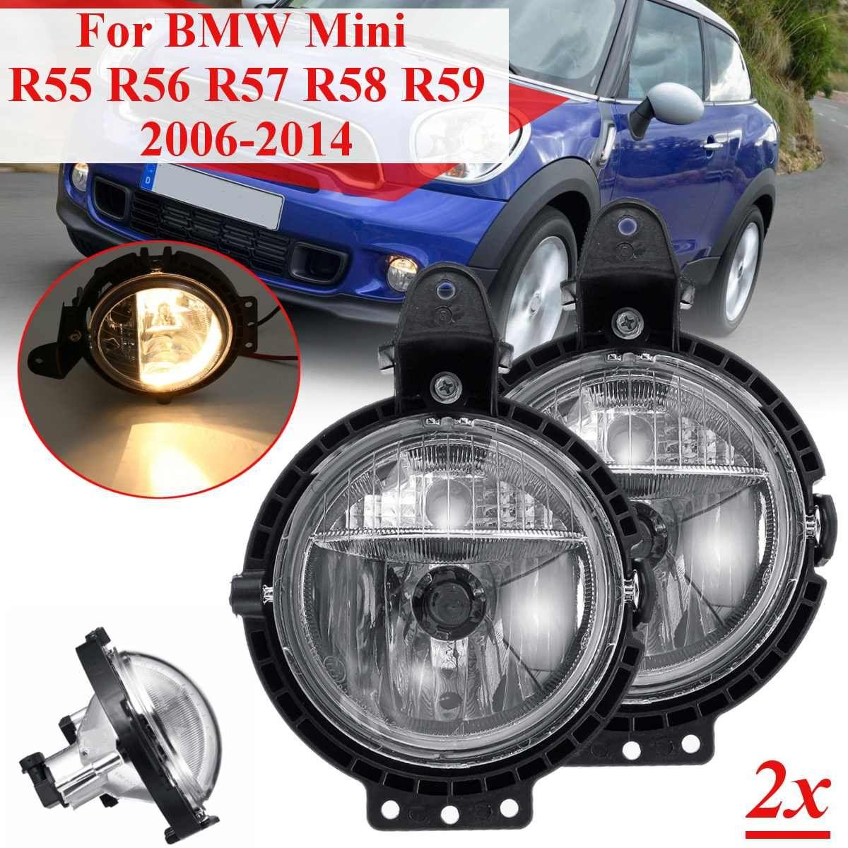 2 stücke Auto Nebel Licht Für BMW Mini R55 R56 R57 R58 R59 Clubvan Clubman Cooper Roadster Ryman eine Lampe mit Bulb Driving Lampe