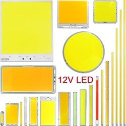 DC12V светодиодный COB лампы светоизлучающий диод 2В-200 Вт круглый COB Белый красные, синие Цвет 12 V Светодиодный светильник чип для набор светодио...
