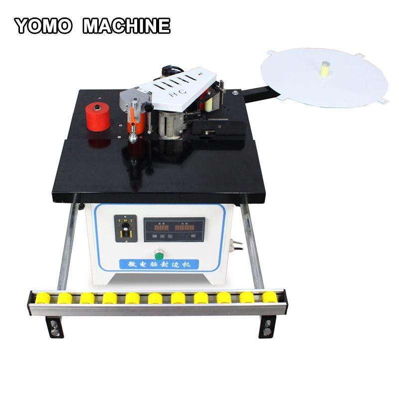 Automatische streifen brechen rand banding Maschine doppelseitige kleber holzbearbeitung kantenanleimmaschine pvc cut selbst