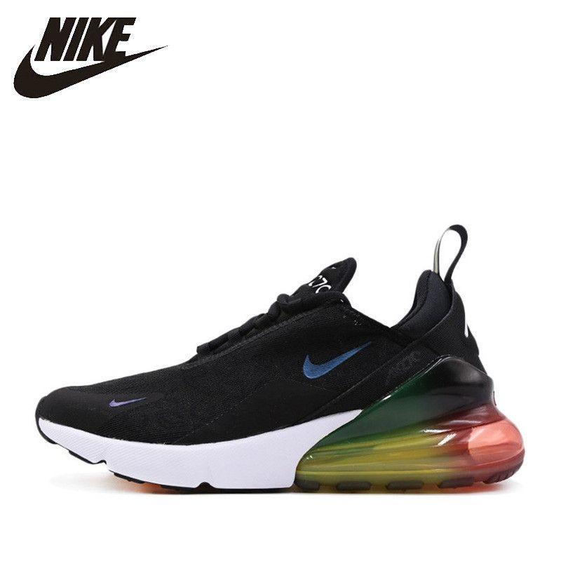 Nike Offizielle Air Max 270 Männer Laufschuhe Outdoor Sport Komfortable Nicht-slip Atmungsaktive Sport-Turnschuhe # AQ9164