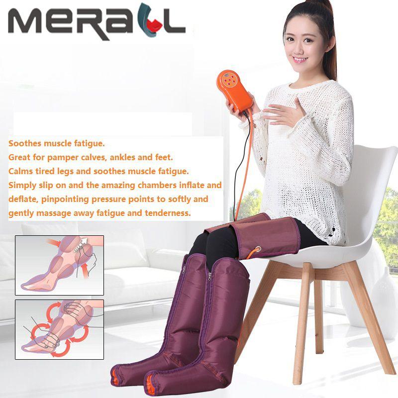 Luftdruck Fuß Massage Elektrische Multi-Funktion Schönheit Gerät Mit Physiotherapie Hand Controller-Füße & amp Kälber