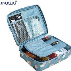 SNUGUG девушка макияж сумка для женщин косметический мешок моющийся несессер составляют организатор хранения сумка для дорожного набора мног...