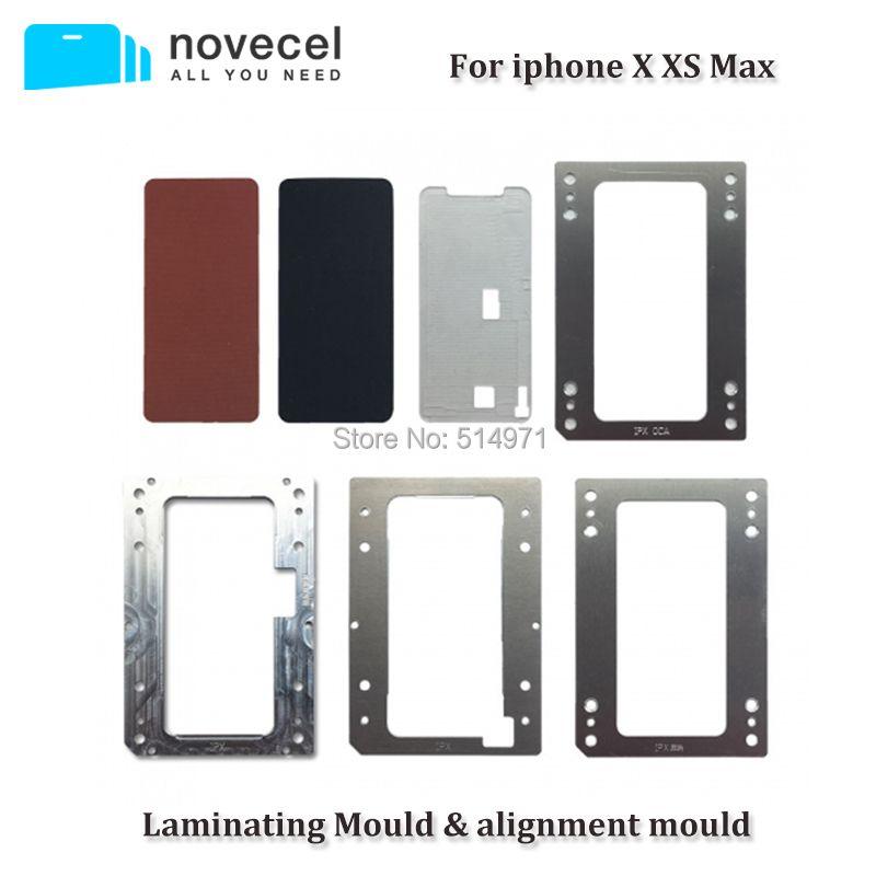 Novecel Für iPhone X XS Max Laminieren Formen für Blase-freies Laminieren Maschine LCD Bildschirm Laminator Formen & Gummis
