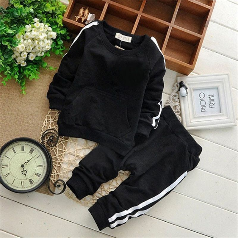 Newborn Brand Carters Baby Boy Clothing Suits Baby Girl Clothes Sets Children Suit Sweatshirts+Sports Pants Spring Kids Set