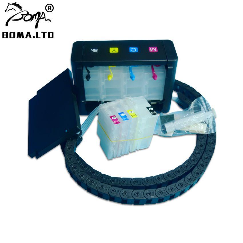 4 couleurs/Set bricolage 711 encre en vrac CISS système d'alimentation en encre continue pour HP 711 pour HP Designjet T120 T520 imprimantes 36/24 pouces
