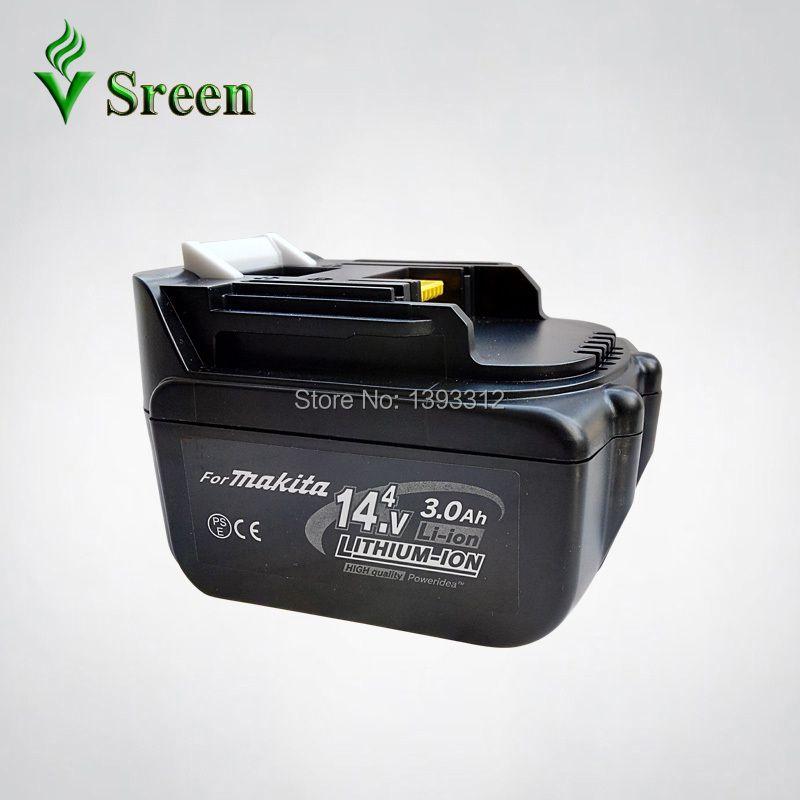 Nouveau Makita 14.4 V BL1430 3000 mAh Remplacement Rechargeable Au Lithium Ion Outils Électriques piles batteries LXT200 BL1415