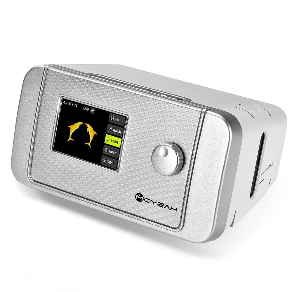 MOYEAH Auto CPAP/APAP Maschine 20A Für Schlafapnoe OSA Vibrator Anti Schnarchen Ventilator Mit Wifi Internet Luftbefeuchter CPAP maske