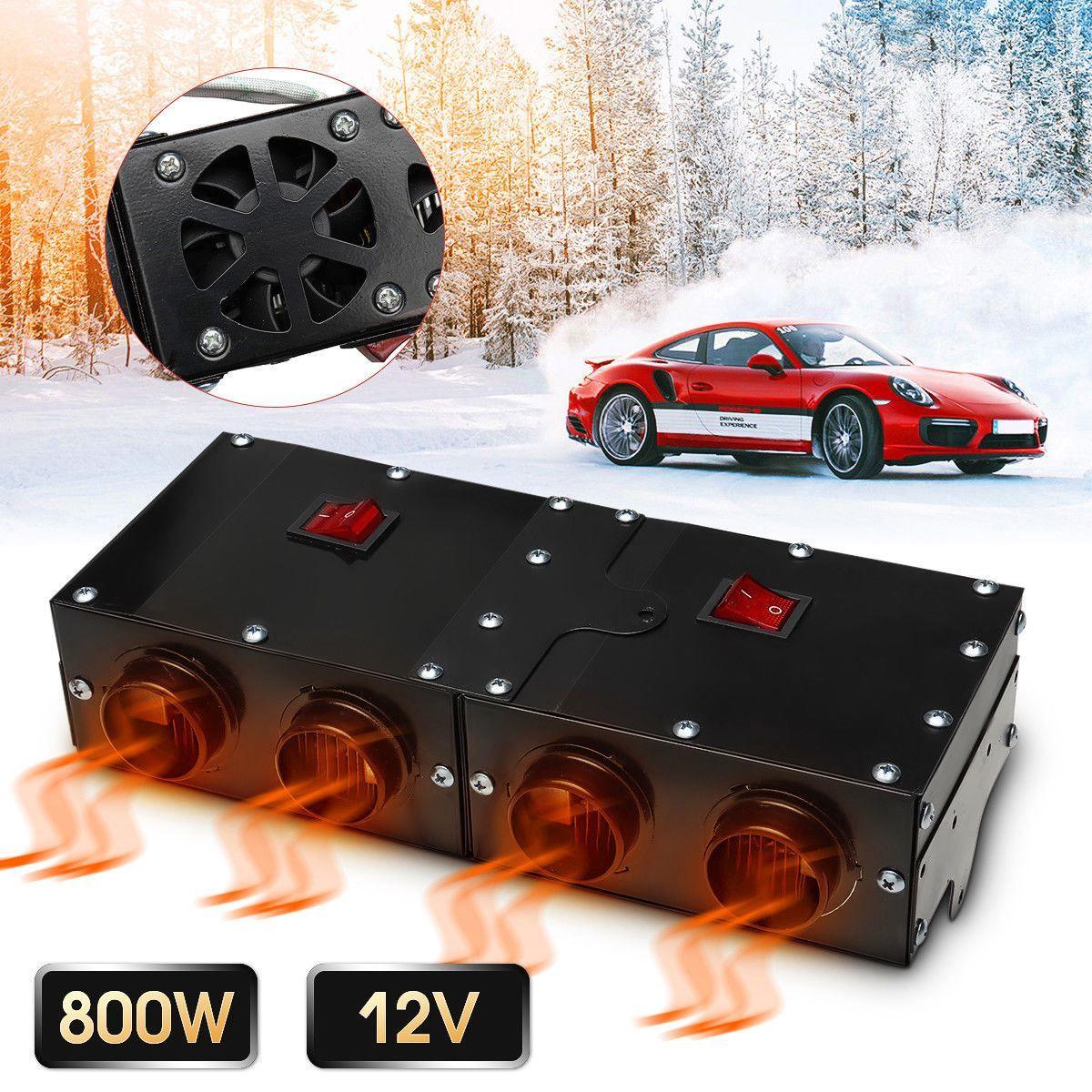 800 watt/500 watt Universal Tragbare Auto Heizung Auto Van Heizung Luft Heizung Kompakte Defroster Demister 12 v Auto elektrische Geräte