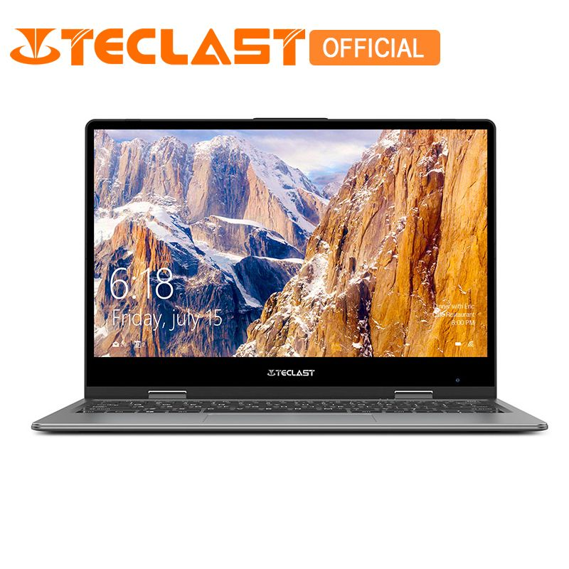 Teclast F5 Laptop Intel Gemini See N4100 Quad Core 8 gb RAM 128 gb SSD Windows10 360 Rotierenden Touchscreen 11,6