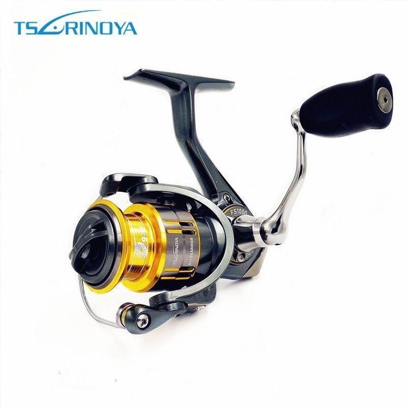 Tsurinoya FS 800 1000 2000 Ultra Light Spool Carp Fishing Spinning Reel Surfing <font><b>Bait</b></font> Freshwater Saltwater Spinning Fishing Reels