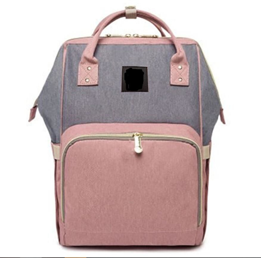 2019 Hot Fashion Mummy Maternity 44cm Nappy Bag Large Capacity Baby Bag Travel Backpack Desinger Nursing Bag