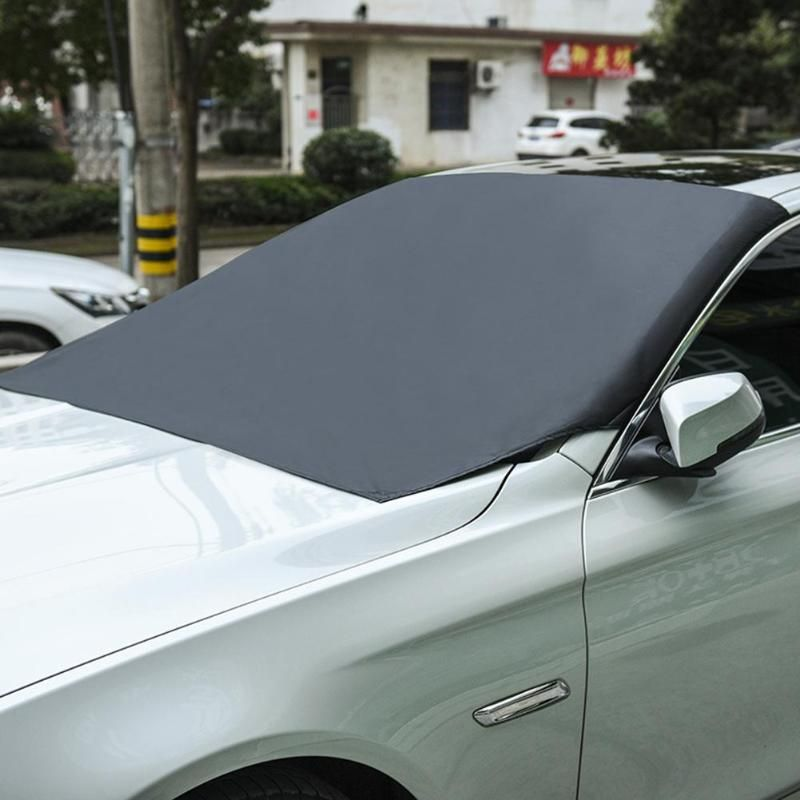 Magnetic Car Front Windscreen Snow Ice Shield Cover Autos Windshield Sunshade Anti-frost Anti-fog Universal Car Sun Protector