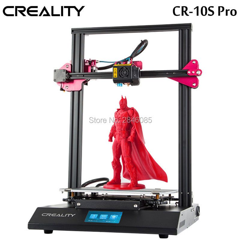 CREALITY 3D CR-10S Pro Auto Nivellierung Sensor Drucker 4,3 zoll Touch LCD Lebenslauf Druck Filament Erkennung Funtion MeanWell Power