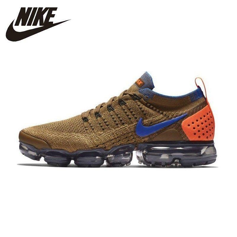 Nike Air Vapormax Flyknit Männer Laufschuhe Neue Ankunft Atmungs Nicht-slip Turnschuhe #942842-203/700 AT8955-013