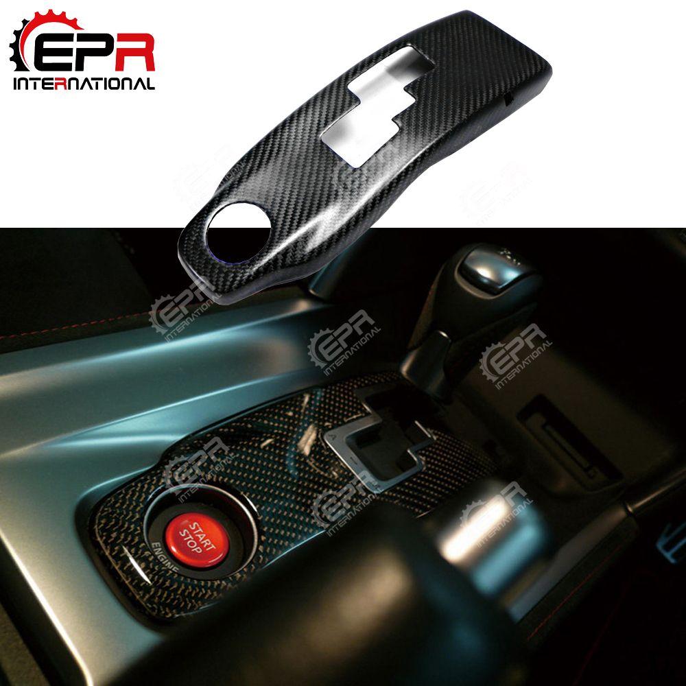 Auto-styling Für Nissan R35 GTR Carbon Getriebe Surround Glossy Finish GT-R Innere Trim Abdeckung Tuning Innen Drift körper Kit