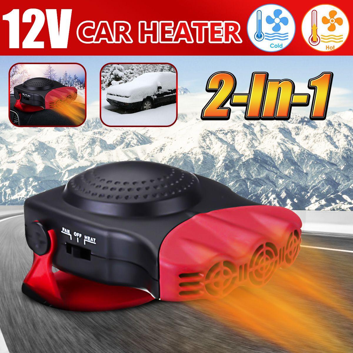 150 W Protable Auto Auto Heizung Heizung Lüfter Windschutz Fenster Demister DEFROSTER Fahren Defroster Demister 12 V