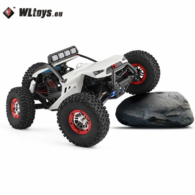 High Speed Wltoys 12429 1/12 2.4G 4WD40km/h Off-Road On-Road Radio Control RC Car Buggy With Head Light