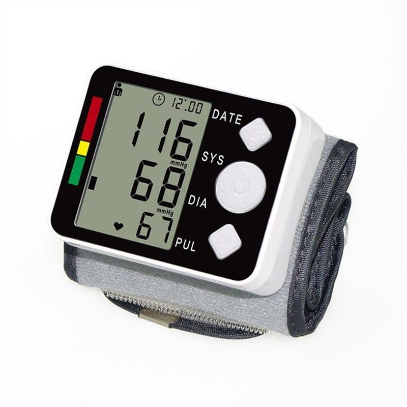 YONGNUO numérique esfigmomantro pression artérielle tonomètre tensiomètre Intelligent poignet numérique tensiomètre