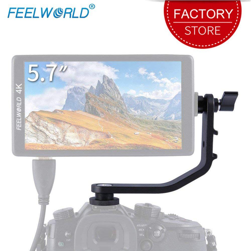 Feelworld Tilt Bras Leightweight En Aluminium conçu pour F5 FW568 S55 F570 F6 DSLR Caméra moniteur de terrain Stabilisateur Cardan Plate-Forme de Grue
