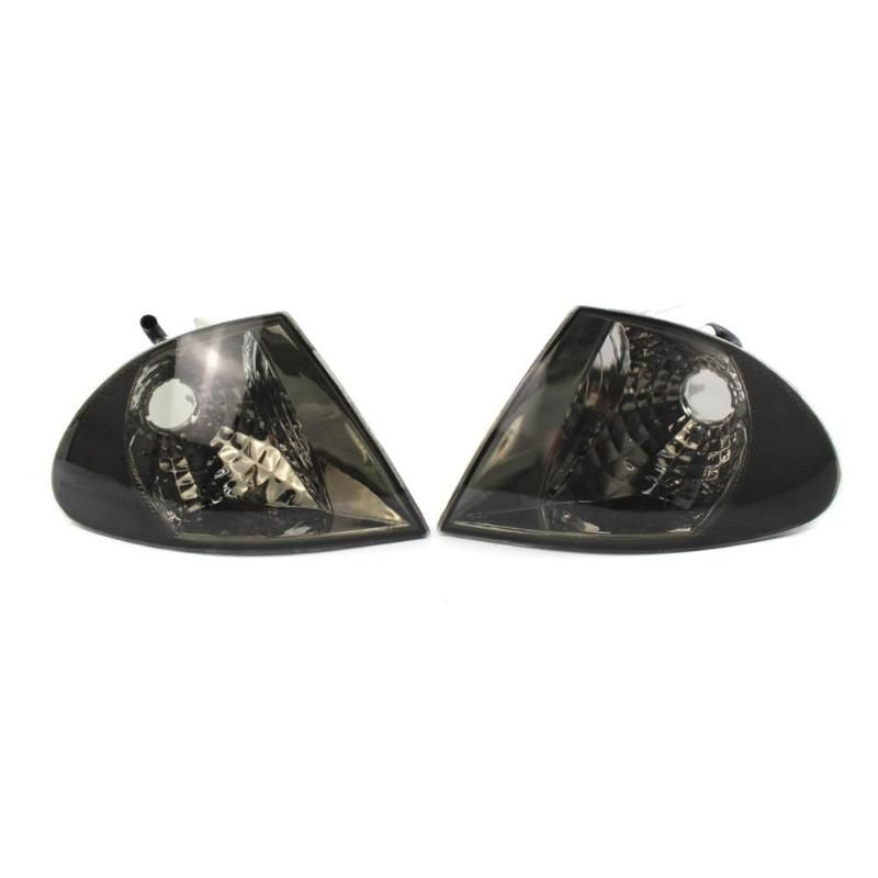 1 Pair Clear Lens Parking Turn Signal Indicator Corner Lights for 3 Series E46 1999-2001 Sedan Car Stying Accessories