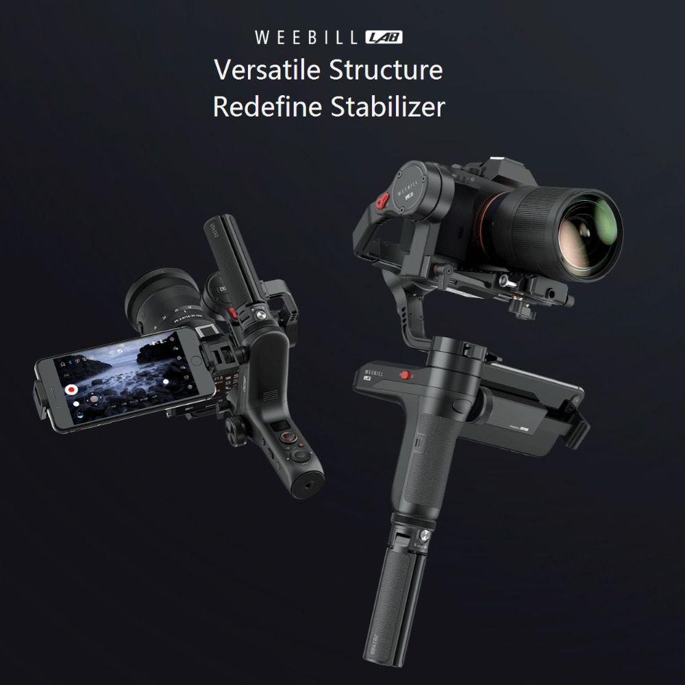 ZHIYUN Weebill LABOR 3 Achse Handheld Gimbal Spiegellose Kamera Stabilisator Handheld Gimbal für Sony A7R3 A7S2 A7M3 A6300 A6500 GH5