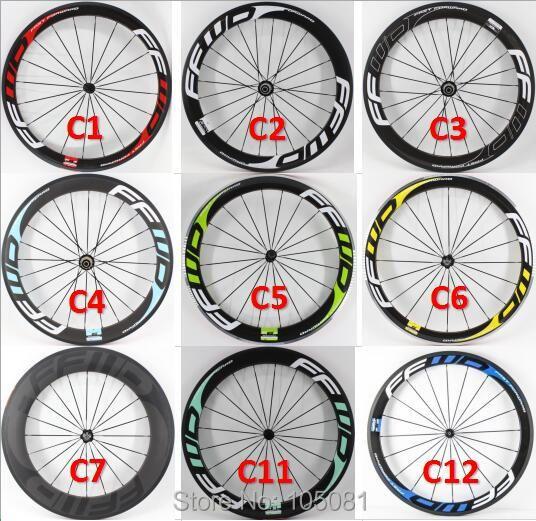 Neue 700C rennrad glänzend matt 3 K UD 12 K volle carbon faser fahrrad laufradsatz carbon tubular klammer tubeless felgen Freies verschiffen
