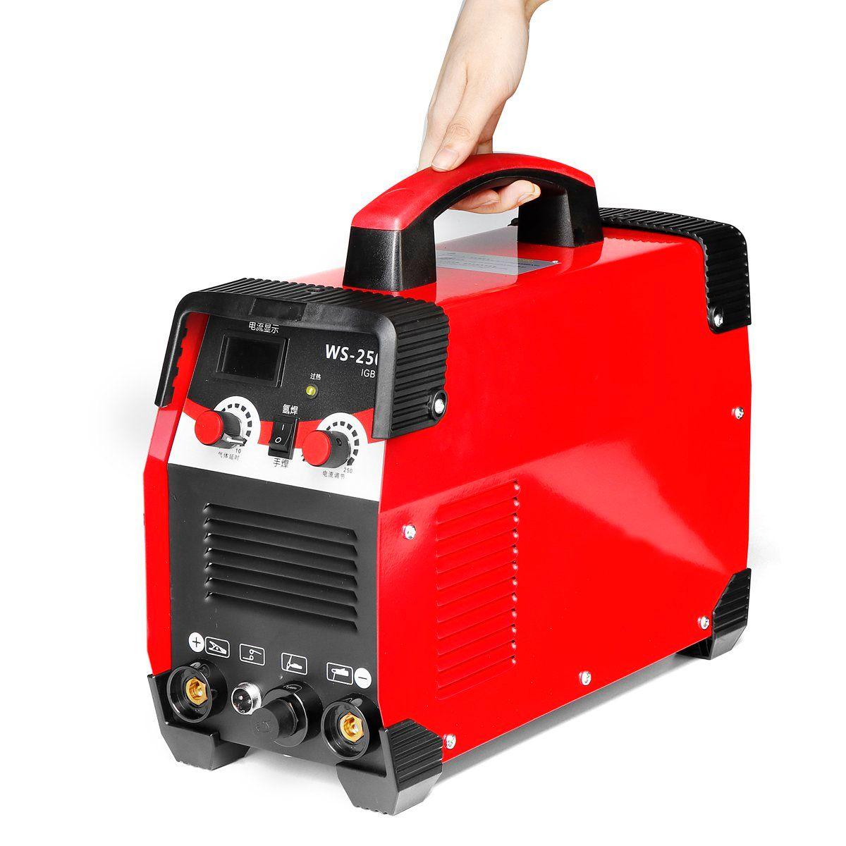 2IN1 220 V 7700 W TIG/ARC Elektrische Schweißen Maschine 20-250A MMA IGBT STICK Inverter Für Schweißen Arbeits und elektrische Arbeits