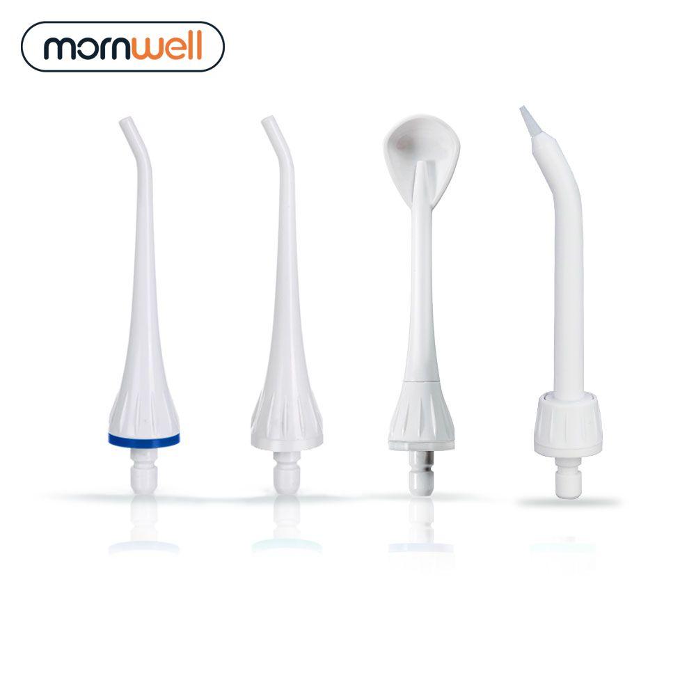 4 ersatz Tipps Kompatibel Mit Mornwell D50 & D52 & D50WS Wasser Flosser Oral Irrigator Für Hosenträger und Zähne Bleaching d92