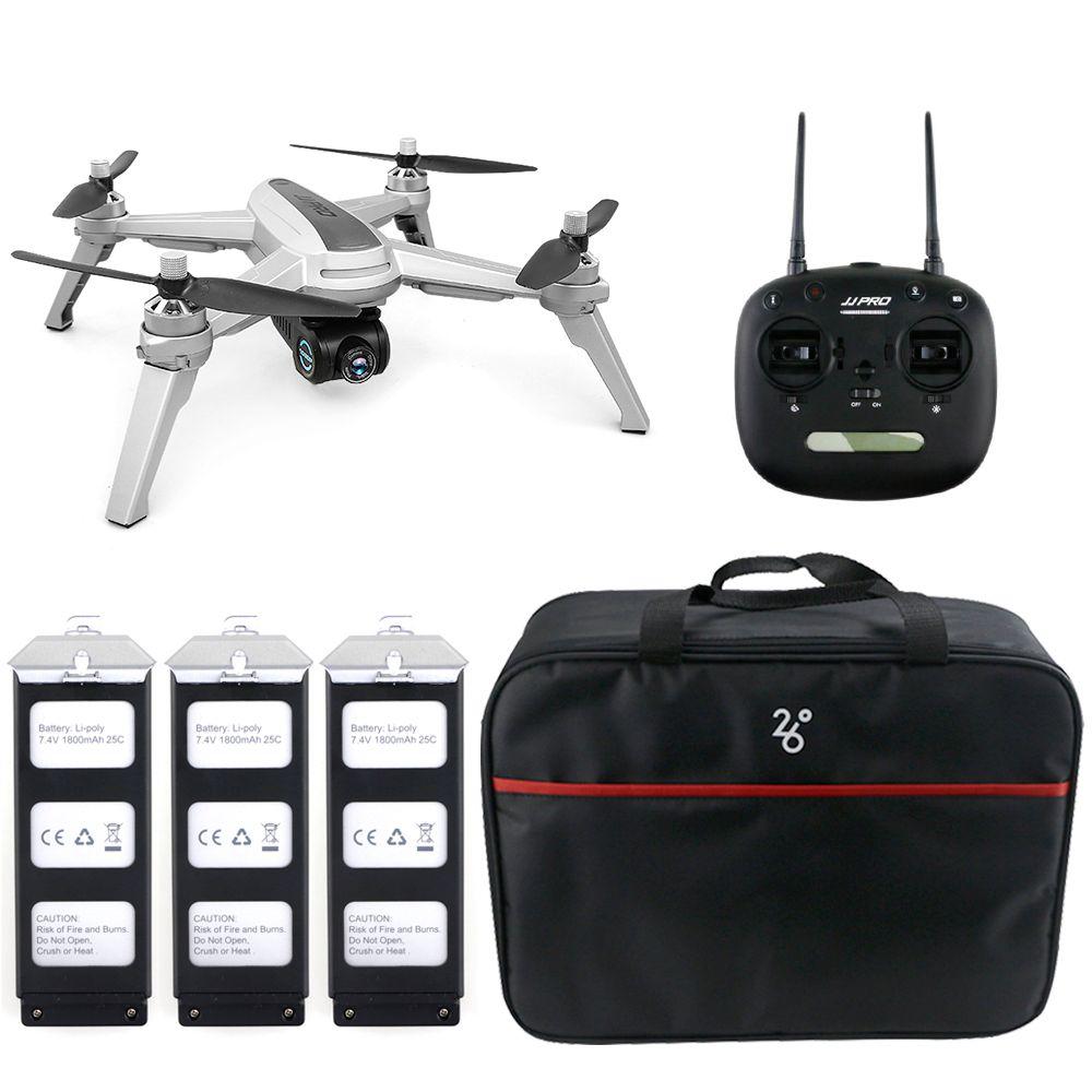 JJRC JJPRO X5 5G WiFi FPV RC Drone GPS Positionierung Höhe Halten 1080 P Kamera Punkt Von Interessant Folgen bürstenlosen Motor Drone
