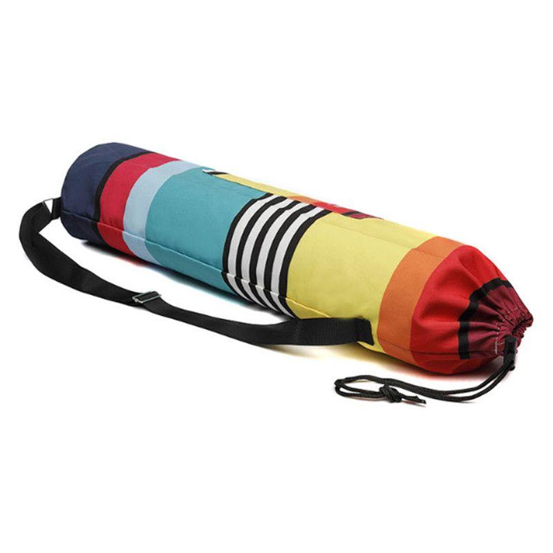 SGODDE 16x75 cm Yoga Tasche Wasserdicht Leinwand Outdoor Fitness Sport Handtasche Multi-funktion Tasche Sport Übung Gym fitness Yoga Matten