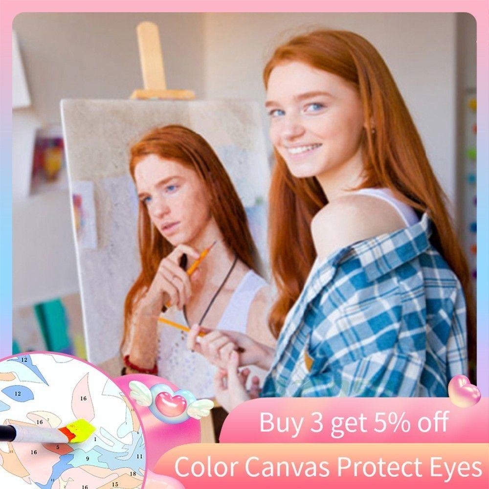 Personnalité Photo personnalisé bricolage peinture à l'huile peintures par numéros image dessin par numéros toile coloriage par numéros acrylique